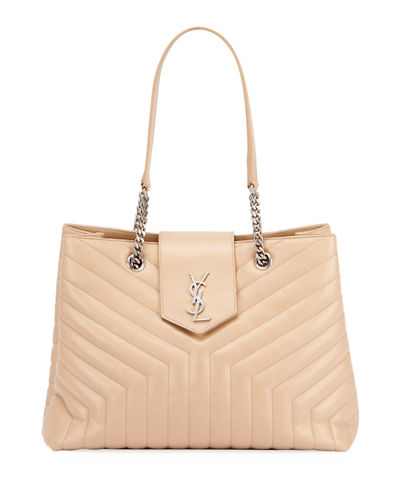 Loulou Monogram Medium Quilted Shoulder Bag