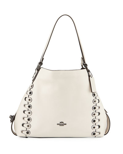 Edie 31 Link Detail Shoulder Bag