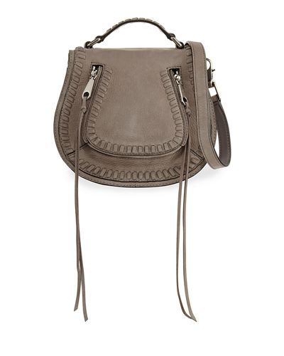 Small Vanity Whipstitch Saddle Bag