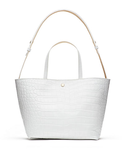 Eloise Crocodile-Embossed Tote Bag