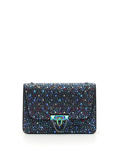 Demilune Small Crystal Shoulder Bag