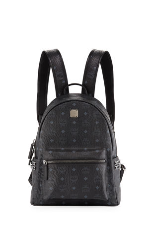 MCM Stark Small Side Studded Backpack