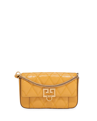 4012c642cf21 Givenchy Pocket Mini Pouch Convertible Clutch Belt Bag - Golden Hardware