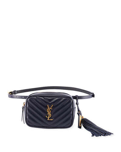 8dd8f6d25b Saint Laurent Lou Monogram YSL Quilted Leather Belt Bag from Neiman Marcus  - Styhunt