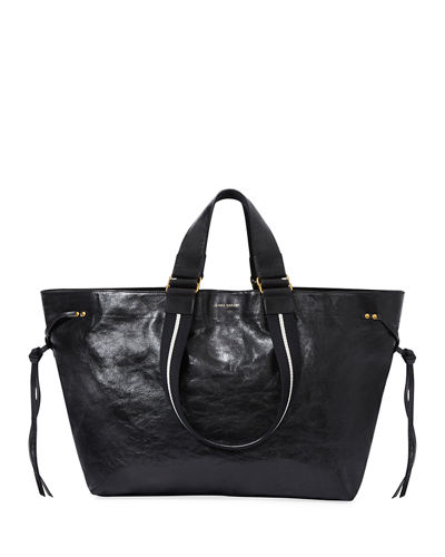 a224eee020c Isabel Marant Wardy Iconic Leather Shopper Tote Bag from Neiman ...