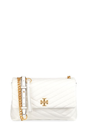 Tory Burch Kira Quilted Leather Shoulder Bag