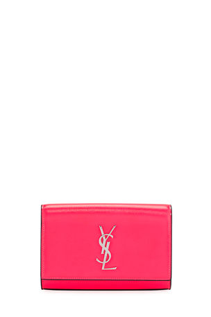 Saint Laurent Kate YSL Monogram Neon Belt Bag