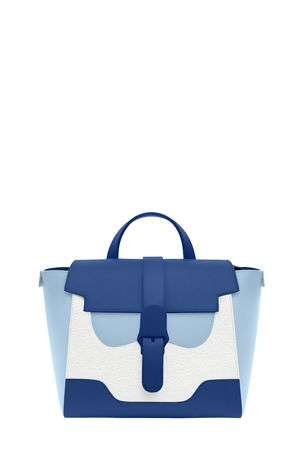 Senreve Maestra Midi Colorblock Convertible Satchel Bag