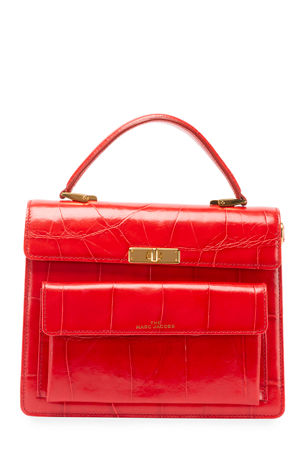 The Marc Jacobs The Uptown Mock-Croc Bag