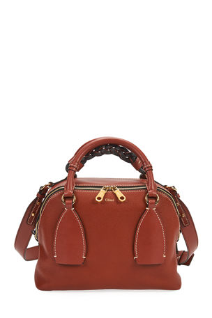 Chloe Daria Medium Leather Shoulder Bag
