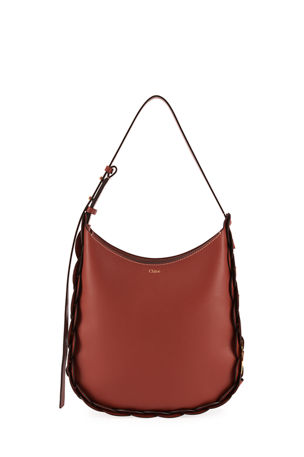Chloe Darryl Medium Leather Hobo Bag
