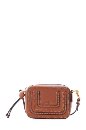 Chloe Marcie Mini Leather Crossbody Bag