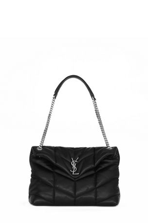 Saint Laurent Loulou Medium YSL Flap Shoulder Bag