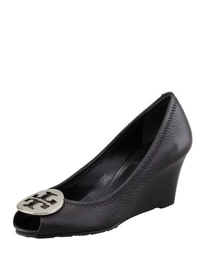 Sally 2 Leather Wedge Pump