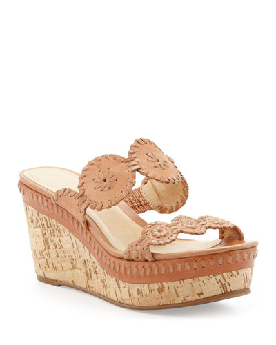 Leigh Cork Wedge Slide