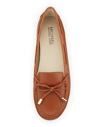 Daisy Leather Moccasin Loafer