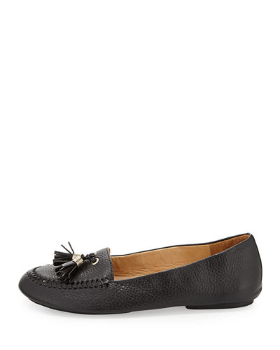 Terra Leather Tassel Loafer