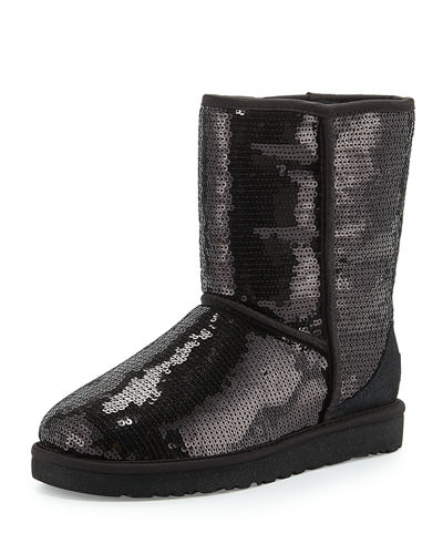 Classic Short Sparkles Boot