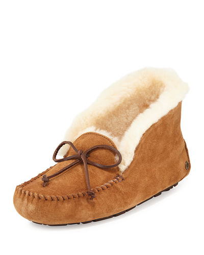UGG Australia UGG Alena Collared Tie Slipper