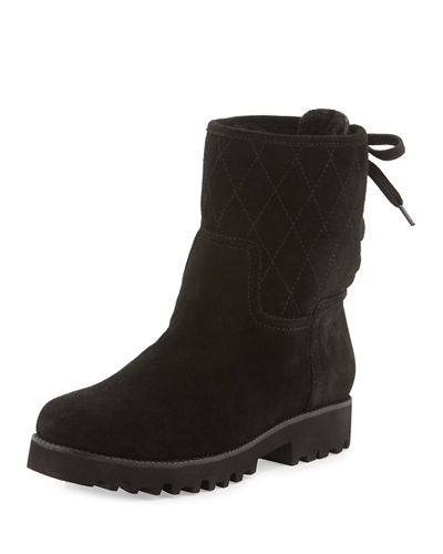 Rani Shearling Fur-Lined Bootie