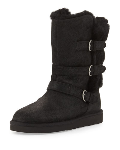 Becket Triple-Buckle Boot