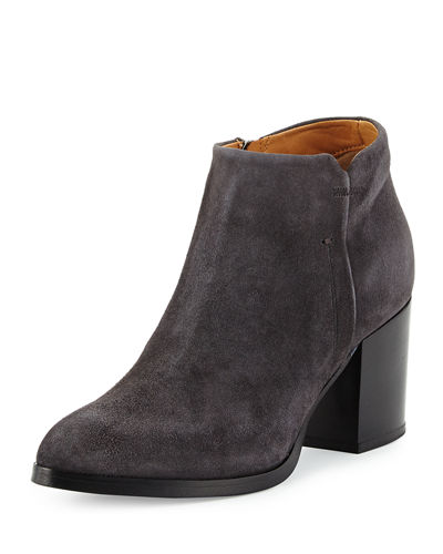 Anzio Suede Ankle Bootie, Gray