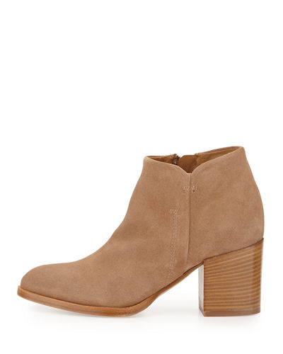 Anzio Suede Ankle Bootie