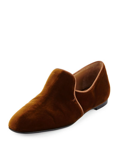 Alys Leather Slipper Flat