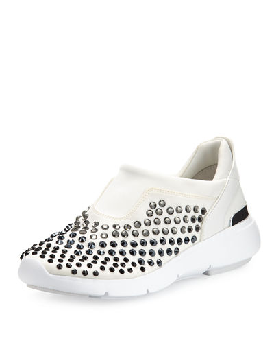 Ace Studded Neoprene Trainer Sneaker
