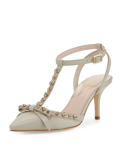 julianna t-strap bow pump