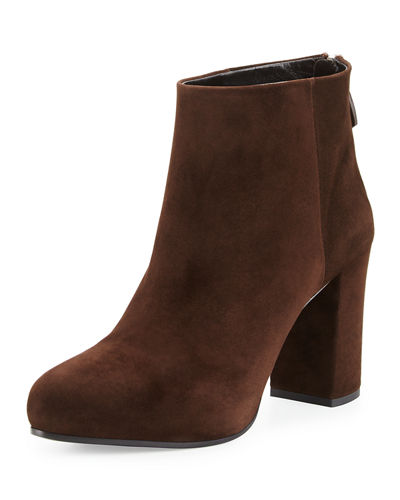 Suede 85mm Ankle Boot