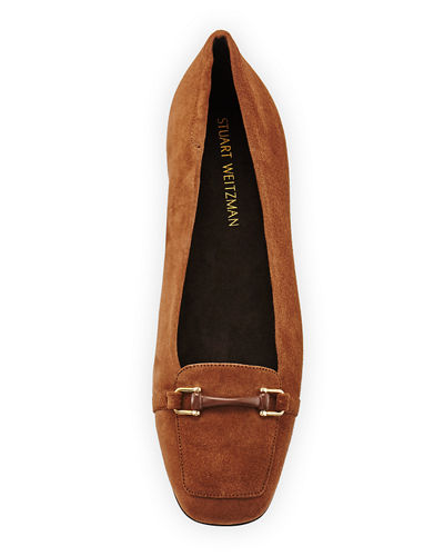 Mocnroll Horsebit Suede Loafer