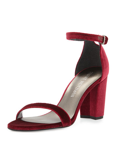 Nearlynude Velvet City Sandal