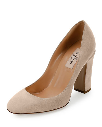 Tan-Go Suede 100mm Pump