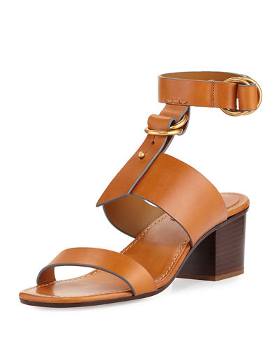 Kingsley Leather T-Strap Sandal