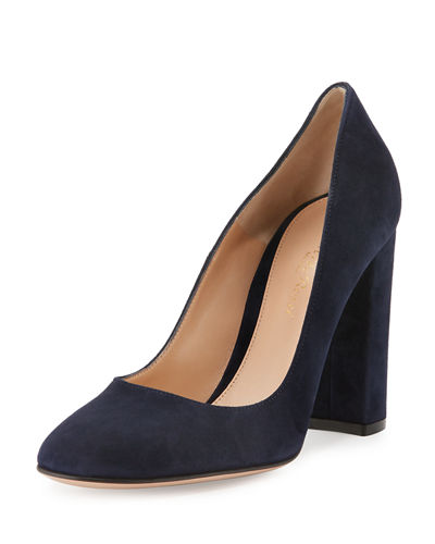 Chunky Heel Dress Shoes | Neiman Marcus