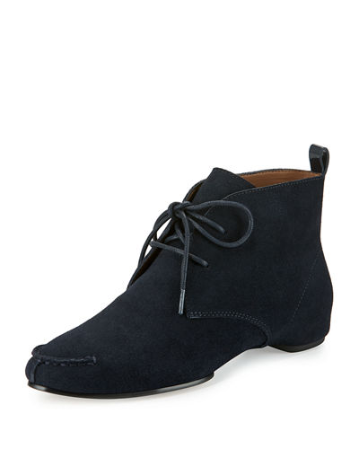 Brii Suede Lace-Up Bootie