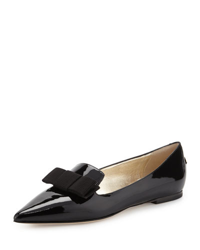 Gala Patent Bow Loafer