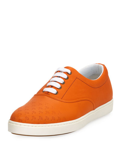 Malibu Palms Leather Low-Top Sneaker