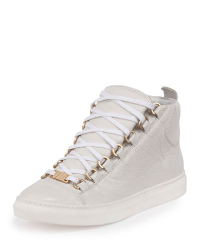 Arena Leather High-Top Sneaker