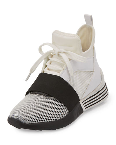 Braydin Neoprene High-Top Sneaker