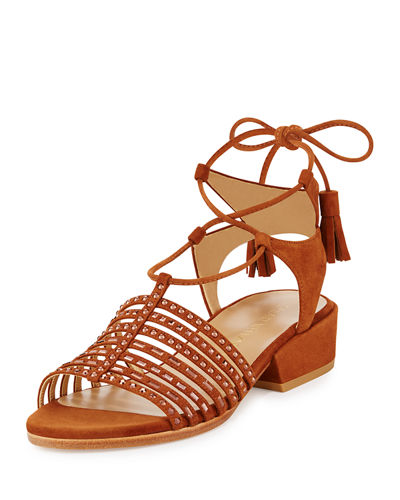 Skippity Suede Strappy Sandal