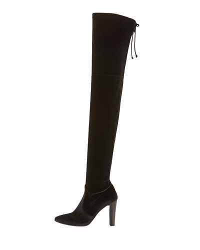 Alllegs Velvet Over-the-Knee Boot