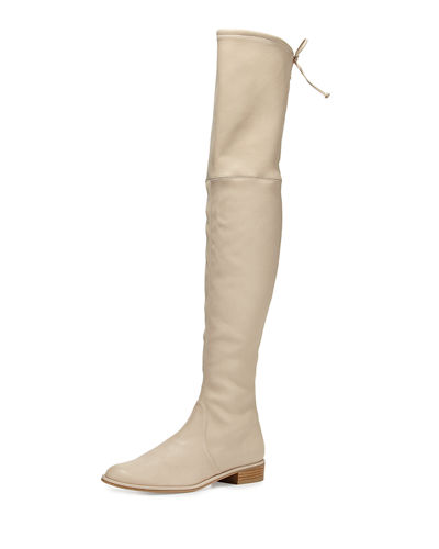 Stuart Weitzman Lowland Leather Over-the-Knee Boot