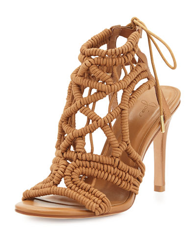 Aria Woven Strappy Sandal
