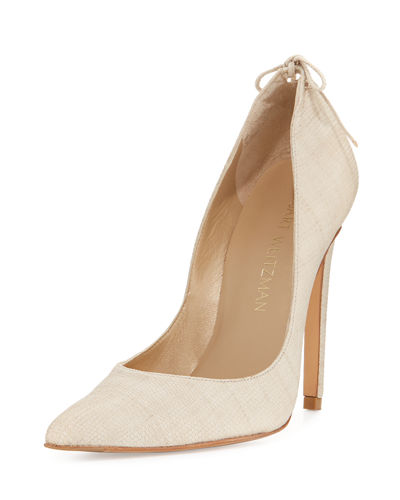 Stuart Weitzman PeekABow High Slip-On Pump