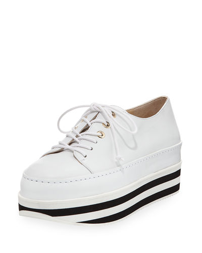 Activate Striped Platform Sneaker