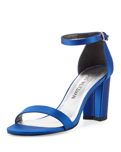 NEARLYNUDE SATIN CITY SANDAL