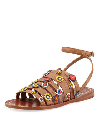 Tory Burch Leather Marguerite Sandals