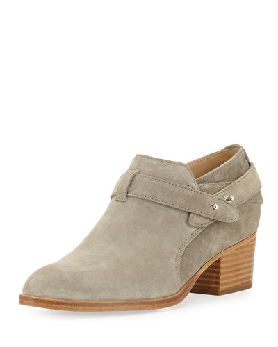 Harley Belted Suede Bootie